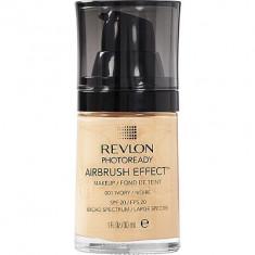 Revlon Photoready Airbrush - 6 nuante disponibile 01 02 03 04 05 06 - Fond de ten Revlon, Lichid
