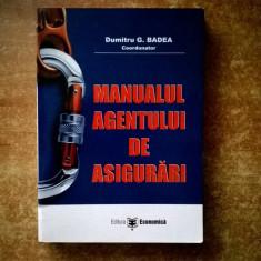 Dumitru G. Badea – Manualul agentului de asigurari
