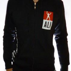 Hanorac Muhammad Ali - hanorac negru hanorac barbati hanorac slim Cod 16, Marime: S, L, XXL, Culoare: Din imagine