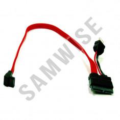Cabluri SATA, cu mufa de alimentare inclusa, pentru unitati optice de 2.5