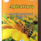 """""""Apicultura. MANUALUL CURSANTULUI. Editia I"""", Col. aut.A.C.A, 2012. Absolut noua, Alta editura"""
