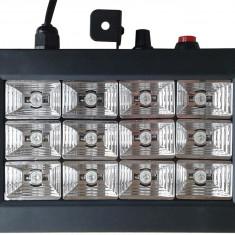 Stroboscop cu jocuri de lumini Led Room Strobe 12 - Stroboscop club