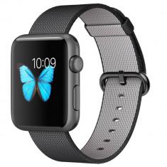 Smartwatch Apple Watch Sport 42mm Space Grey Aluminium Case Black Woven Nylon