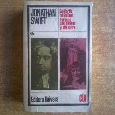 Jonathan Swift – Calatoriile lui Gulliver; Povestea unui poloboc si alte satire - Roman