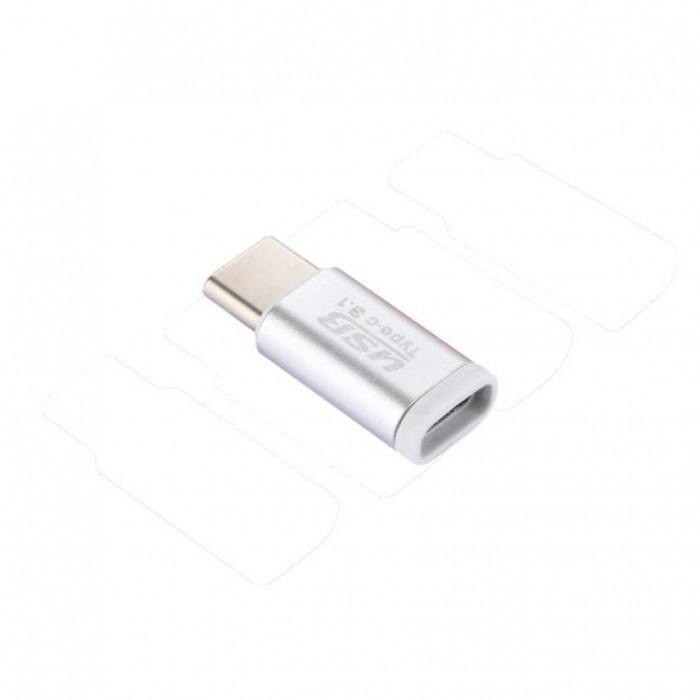 Adaptor Micro USB la Type C USB 3.1