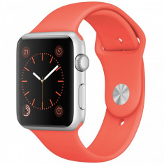 Smartwatch Apple Watch Sport 42mm Silver Aluminium Case Apricot Sport Band