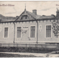 "#1820- Romania, Ocnele Mari -Valcea carte postala circulata 1920?: Vila ""Athena"""
