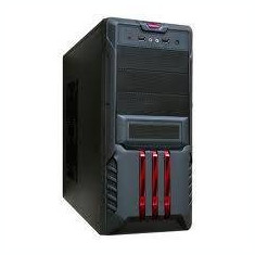 Carcasa Segotep Red SECC Steel ATX Mid Tower Case - Carcasa PC