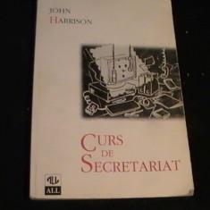 CURS DE SECRETARIAT-JOHN HARRISON-288 PG- - Carte Resurse umane