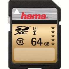 Card Hama SDXC 64GB Clasa 10 - Card memorie