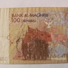 CY - 100 dirhams 2002 Maroc - bancnota africa