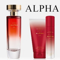 ALPHA AVON + LOTIUNE CORP SI DEODORANT CADOU - Set parfum