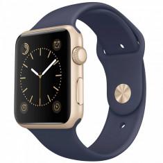 Smartwatch Apple Watch Sport 42mm Gold Aluminum Case Midnight Blue Sport Band