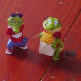 lot 2 bucati - Jucarii / figurine crocodil - Ferrero 1992 / surprize ou Kinder