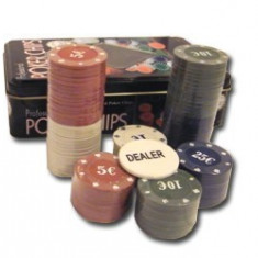Set chipsuri de poker profesionale - Poker chips