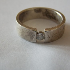 Inel argint cu zirconiu - 576