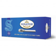 Tuburi tigari Senator cu Carbon pentru injectat tutun - Foite tigari