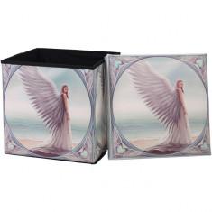 Taburet / cutie depozitare Îngerul păzitor