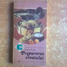 Virginia Nicolau – Prepararea vanatului