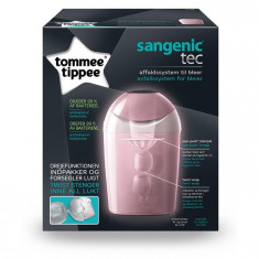 Tommee Tippee - Cos Pentru Scutece Sangenic Tec Pink