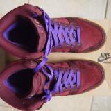Nike Dunk High Premium Burgundy