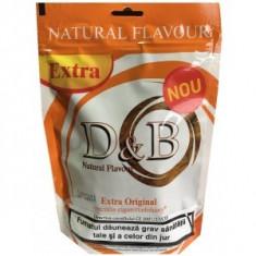 Tutun D&B Extra Original 100 g pentru foite rulat sau tuburi injectat - Tutun Pentru tigari de foi