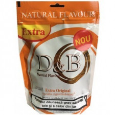 Tutun D&B Extra Original 100g - Tutun Pentru tigari de foi