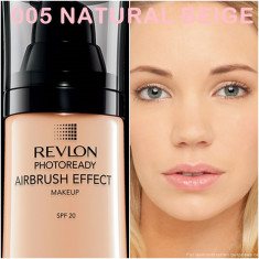 Revlon Photoready Airbrush - 005 NATURAL BEIGE - Fond de ten Revlon, Lichid