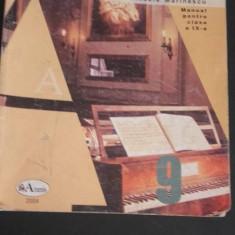 Manual de Educație Muzicală - Clasa a IX-a - Manual scolar Aramis, Clasa 9, Alte materii
