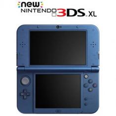Consola portabila Nintendo New 3DS XL albastru metalic - Consola Nintendo