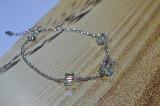 Bratara dama argint S925 cu cristale Swarovski hand-made,Austria-Livr. Gratuita, Femei