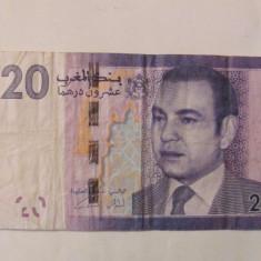 CY - 20 dirhams 2012 Maroc - bancnota africa