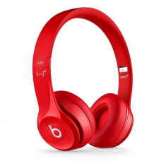 Casti Beats Solo2 Red Monster Beats by Dr. Dre, Casti On Ear, Cu fir, Mufa 3, 5mm, Active Noise Cancelling