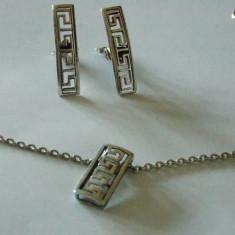 Set argint - 588 - Set bijuterii argint