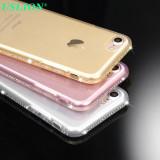 Cumpara ieftin Husa Silicon / Gel TPU PREMIUM cu pietricele / strasuri Iphone 7 / Iphone 8