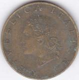 Moneda Italia 20 Lire 1958 - KM#97.1 VF, Europa
