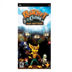Joc consola Sony Ratchet and Clank Size Matters PSP