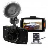 Camera Auto,Dublu Senzor Separat,FullHD ,Wide 170 grade,Rescriere Memorie,etc