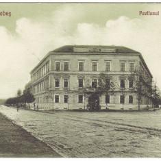 #1817- Romania, Caransebes, carte postala necirculata 1926: Pavilionul ofiteresc