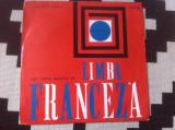 Disc pentru manualul de limba franceza scoala clasa a VIII a exe 242 vinyl lp, VINIL, electrecord