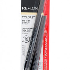 Revlon Colorstay Eyeliner set - TUS + CONTUR negru - Tus ochi