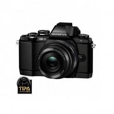 Aparat foto Mirrorless Olympus OM-D E-M10 16.1 Mpx Black Kit 14-42mm EZ Pancake