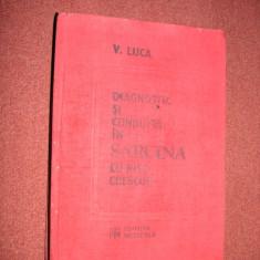 Diagnostic si conduita in sarcina cu risc crescut - V. Luca - Carte Obstretica Ginecologie