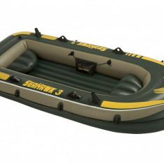 Barca gonflabila Seahawk III 3 persoane Intex 68349