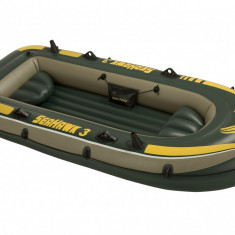 Barca gonflabila Seahawk III 3 persoane Intex 68349 - Barca pneumatice
