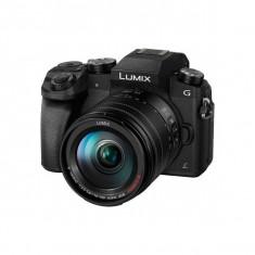Aparat foto Mirrorless Panasonic Lumix DMC-G7 16.1 Mpx Black Kit 14-140mm POWER OIS, Kit (cu obiectiv), 16 Mpx