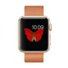 Smartwatch Apple Watch Sport 38mm Gold Aluminium Case Gold/Red Woven Nylon