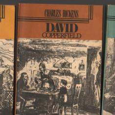 (C7092) CHARLES DICKENS - DAVID COPPERFIELD, VOL. 1,2,3