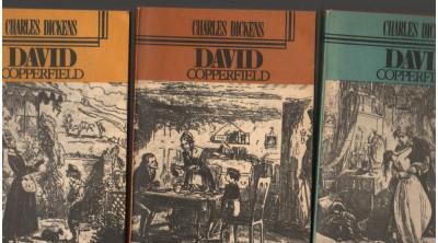(C7092) CHARLES DICKENS - DAVID COPPERFIELD, VOL. 1,2,3 foto