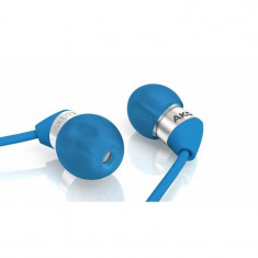 Casti AKG K 323XS albastre, Casti In Ear, Cu fir, Mufa 3, 5mm, Active Noise Cancelling